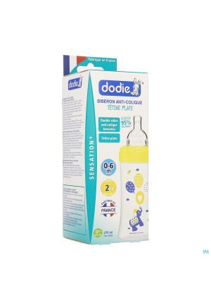 Dodie Zuigfles Sensation+ Gele Olifant 0-6m 270ml3263274-20