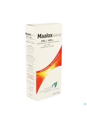 MAALOX ANTACID 230MG/400MG/10ML ORALE SU3264496-20