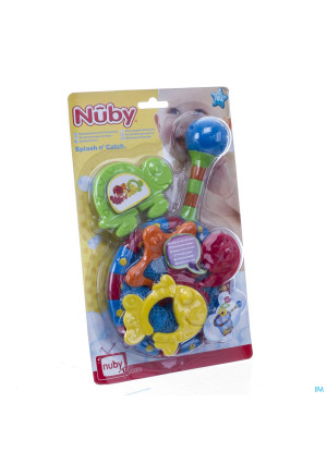 Nûby Bath Time Fishing Set 18m+3264827-20