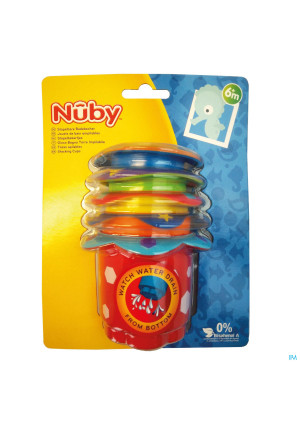 Nûby Stacking Cups 6m+ 3264835-20