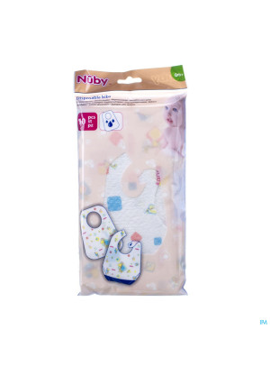 Nûby Disposable bibs 10 pieces3265030-20