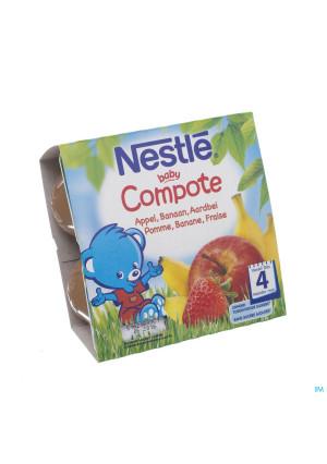 Nestle Baby Compote Appel Banaan Aardb. Pot 4x100g3268117-20