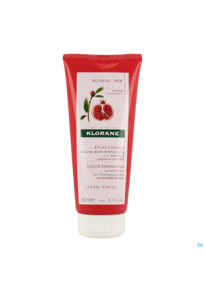 Klorane Capillaires Balsem A/shamp. Granaat. 200ml3269412-20
