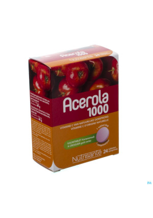ACEROLA 1000 NUTRISANTE 24 TABL3274107-20