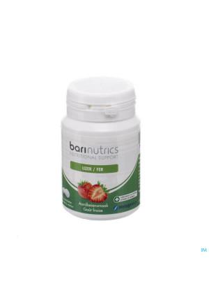 Barinutrics Ijzer Aarbei Kauwtabl 903274867-20