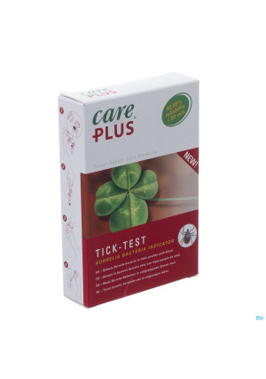CARE PLUS TICK TEST LYME BORRELIOSE 1 ST3277100-20