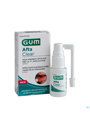 Gum Aftaclear Mondspray 15ml3289709-20