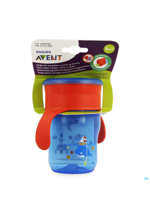 Avent Grow-up Cup Roze Blauw 260ml3294329-20