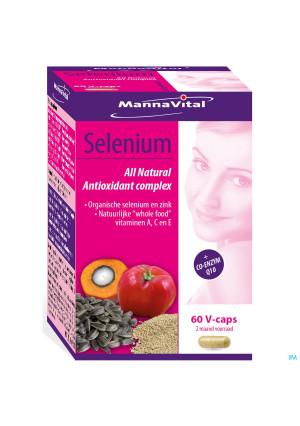 Mannavital Selenium Nf V-caps 603315173-20