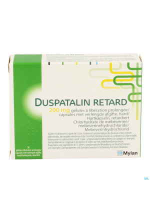 DUSPATALIN RETARD 30 CAPS 200 MG3345857-20