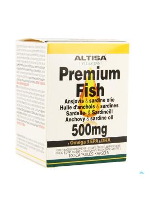 Altisa Ansjovis-sardine Olie 500mg Caps 1003349859-20