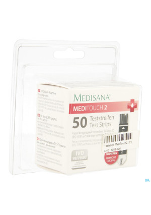 Medisana Medi Touch2 Test Strips 503358306-20