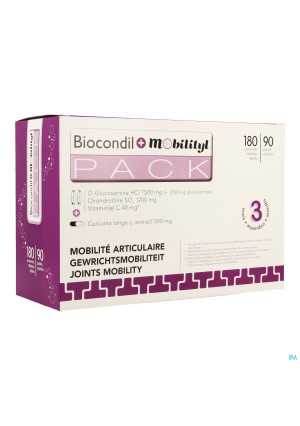 BIOCONDIL + MOBILITYL 180 TABL + 90 CAPS3371820-20