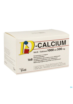 D CALCIUM 168 KAUWTABL 1000IE/500 MG3379088-20