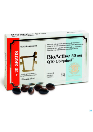 Bio Active Q10 50mg Caps 60+203380706-20