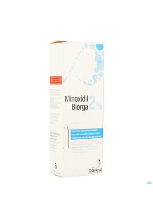 Minoxidil Biorga 2% Opl Cutaan Koffer Fl 1x60ml3404001-20