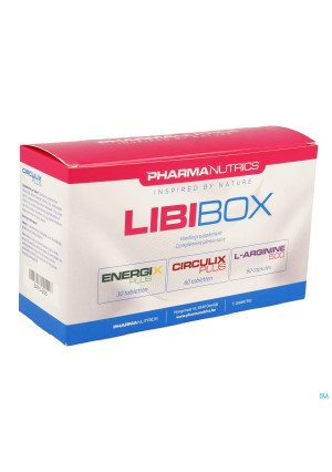 LIBIBOX PHARMANUTRICS 30/60 TABL/60 CAPS3410255-20