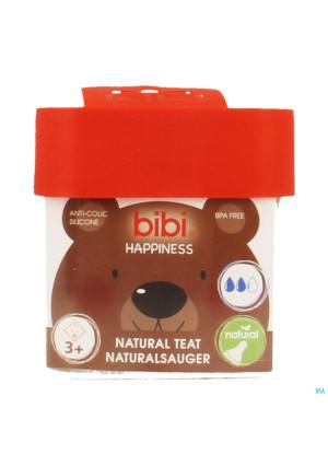 Bibi Zuigspeen Happiness Fles 3+3411261-20