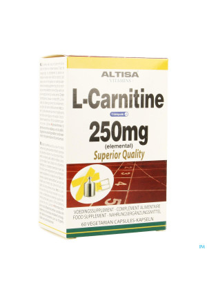 Altisa l-carnitine 250mg (carnipure) Comp 603417664-20