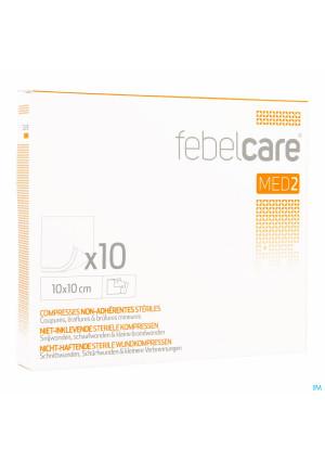 Febelcare Med2 Komp.n/inkl. Ster. 10,0x10,0cm 10x13432051-20