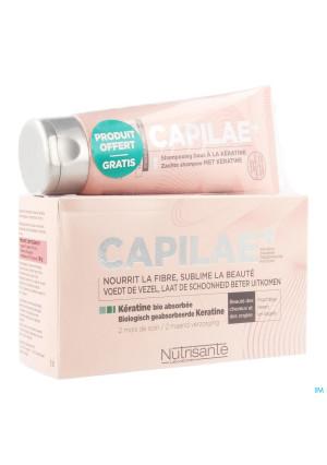Capilae 2m Caps 120 + Sh Keratine 100ml Promo3439312-20