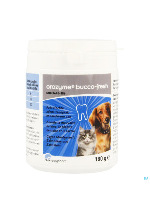 Orozyme Bucco-fresh Chien Chat 180g3445186-20