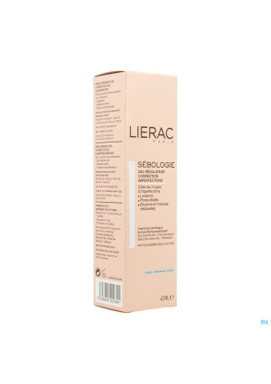 Lierac Sebologie Gel Regul.correct.imperf.tbe 40ml3477130-20
