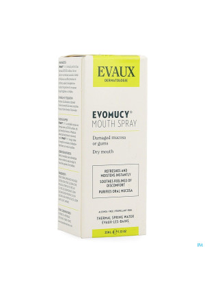 Evomucy Mondspray 35ml3494317-20