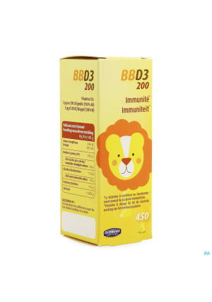 Bb D3 200 Ui Gutt 20ml Orthonat3509023-20