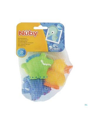 Nûby Bath Squirters: Crocodile, Elephant and Duck 4m+3522018-20