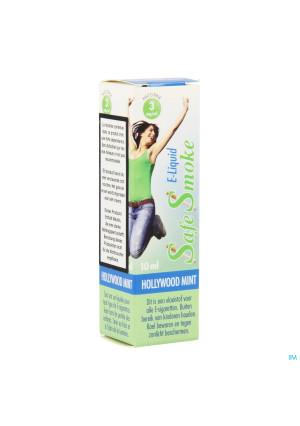 Safe Smoke E-liquid 3mg/ml Nicotine Mint 10ml3526035-20