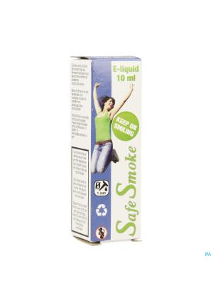 Safe Smoke E-liquid 12mg/ml Nicotine Mint 10ml3526068-20