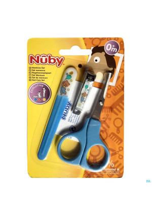 Nûby Evolutive Nail Care Set 0m+ 3531217-20