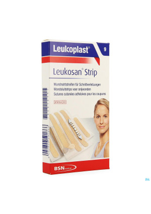 Leukosan Strip Natur. 6x6x38mm+3x6x75mm Leukoplast3531415-20