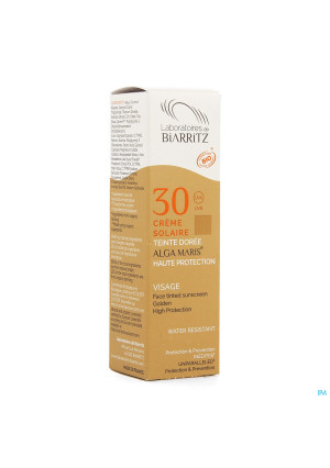 Alga Maris Zonnecreme Gezicht Ip30 Doree 50ml3533908-20