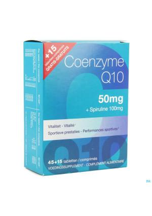 Coenzyme Q10 50mg + Spiruline Comp 45+15 Grat.70583539699-20
