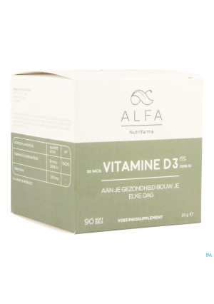 Alfa Vitamine D3 Softgels 903541596-20