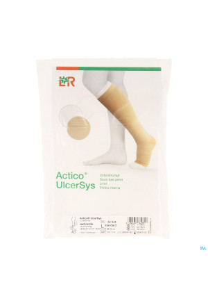 Actico Ulcersys Onderkous 3 Wit l 38-42cm 325343552858-20