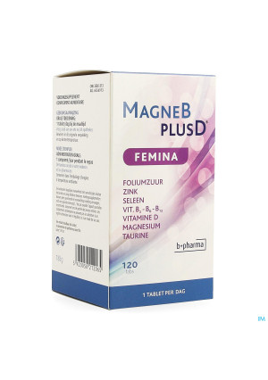 Magne B Plus D Femina 120 Caps3580313-20