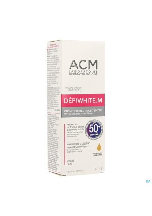 Depiwhite M Creme Bescherm.getint Spf50+ Tube 40ml3584414-20
