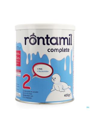 Rontamil 2 Complete Zuigel. Melk 6-12m Pdr 400gr3586153-20