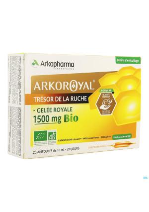 Arkoroyal Koninginnebrij Bio 1500mg Amp 20x10ml3593811-20