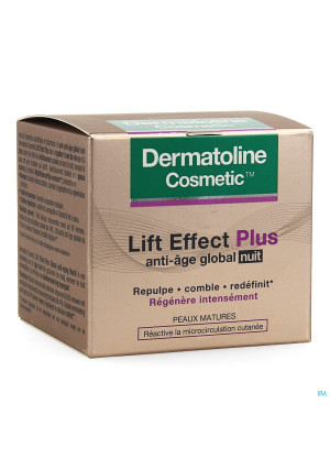 Dermatoline Cosmetic Le+ A/age Cr Global Nacht50ml3594751-20