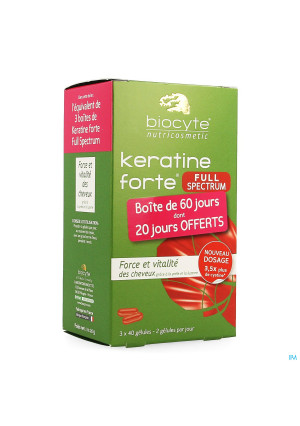 Biocyte Keratine Forte Full Spectrum Caps 1203606704-20