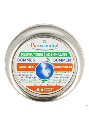 Puressentiel Ademhaling Gommen Citrus 45g3613403-20