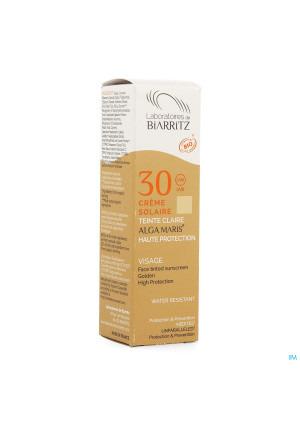 Alga Maris Zonnecreme Gezicht Ip30 Licht 50ml3614302-20