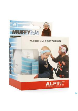 Alpine Muffy Koptelefoon Baby Blauw3632619-20