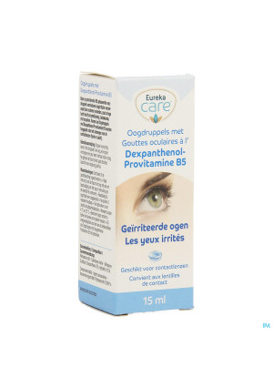 Eureka Care Oogdr.irrit.ogen Dexpanth.prov.b5 15ml3633997-20