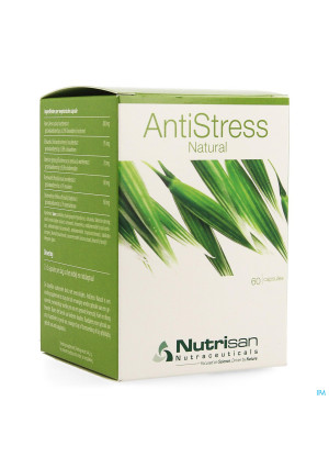 Antistress Natural Caps 60 Nutrisan3640653-20