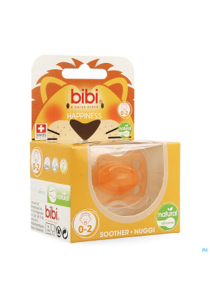 Bibi Fopspeen Hp Natural Newborn 0-2m3643210-20